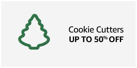 Cookie Cutters Up to 50% off