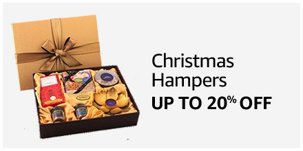 Up to 20% off Christmas Hampers