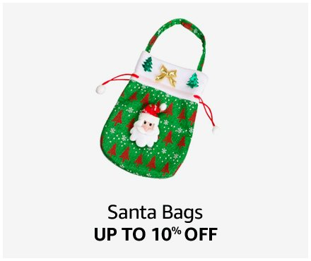 Up to 10% off Santa Bags