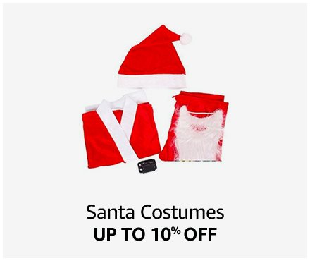 Up to 10% off Santa Costumes