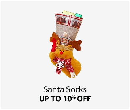 Up to 10% off Santa Socks