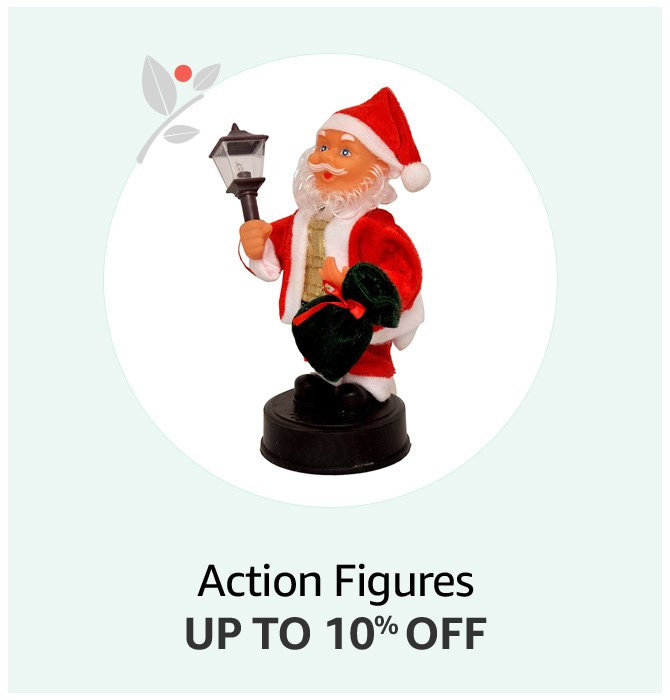 Santa Action Figures Up to 10% off