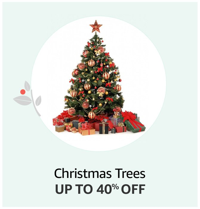 Up to 50% off Christmas Trees