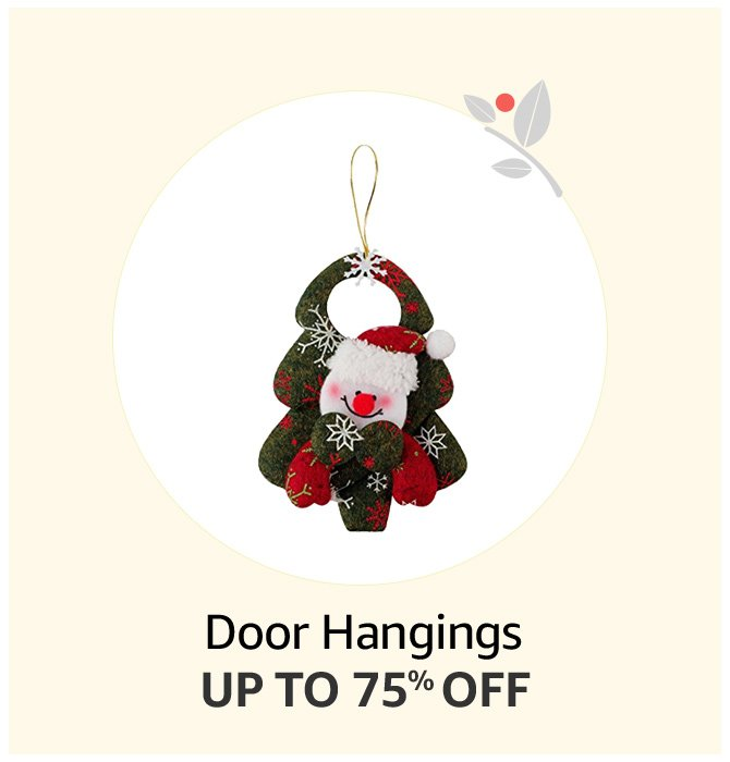 Up to 75% off Door Hangings