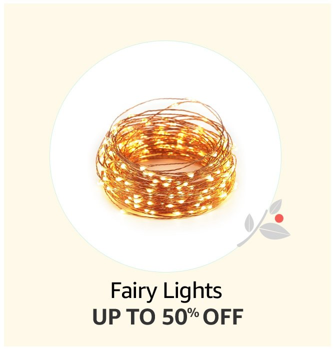 Up to 50% off Fairy Lights