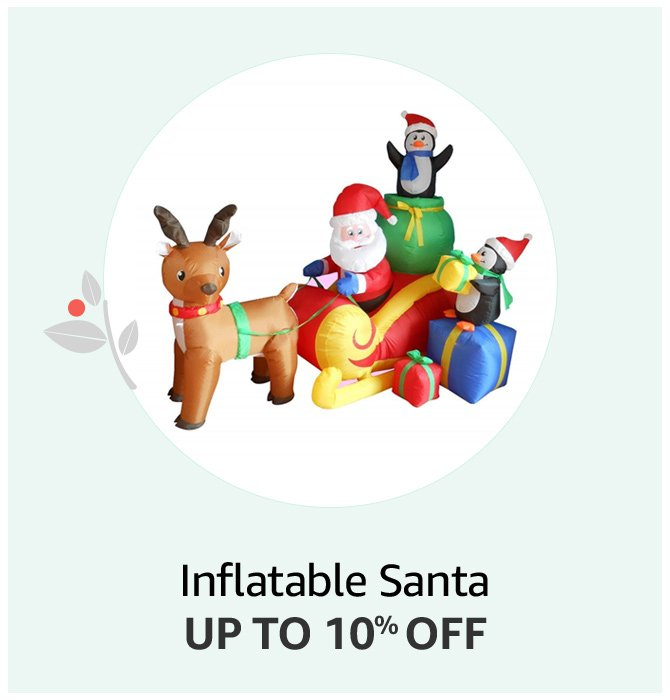 Inflatable Santa Up to 10% off
