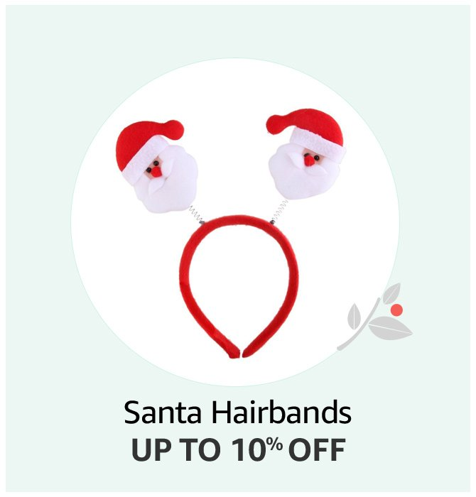 Santa Hair Bands