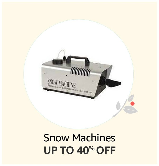 Up to 40% off Snow Machines