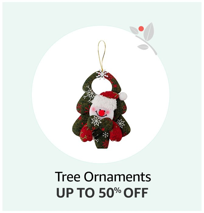 Up to 50% off Tree Ornaments