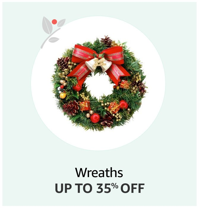 Up to 35% off Wreath