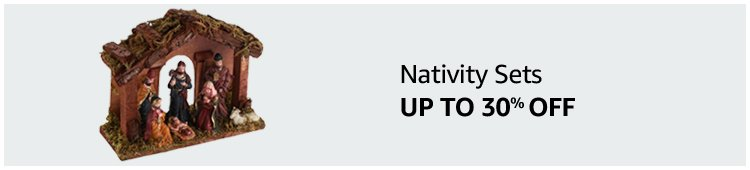 Up to 30% off Nativity Sets