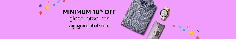 Minimum 10% off Global Store