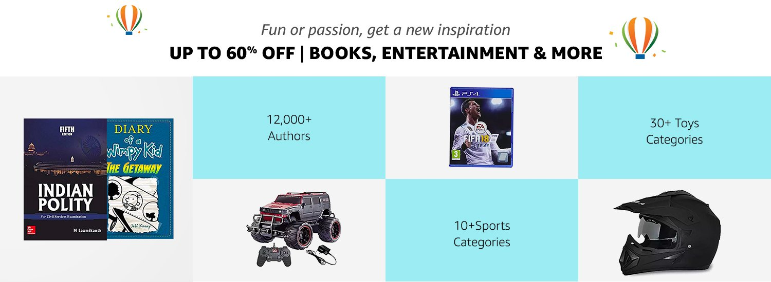 Up to 60% off Books & more