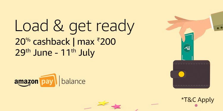 Get 20% back | Top-up your balance today