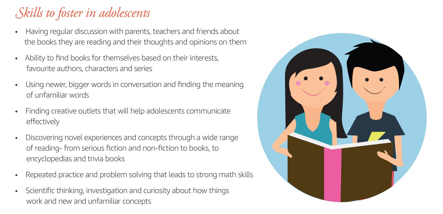 Skills to foster in adolescents
