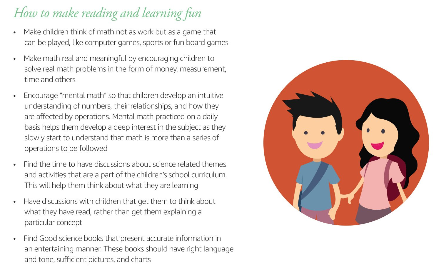 How to make reading and learning fun