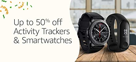 Up to 50% off: Trackers & smartwatches