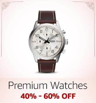 Premium Watches: 40%-60% off
