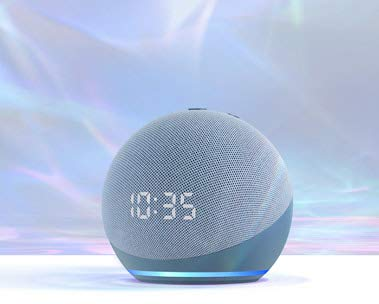 All-new Echo Dot with clock