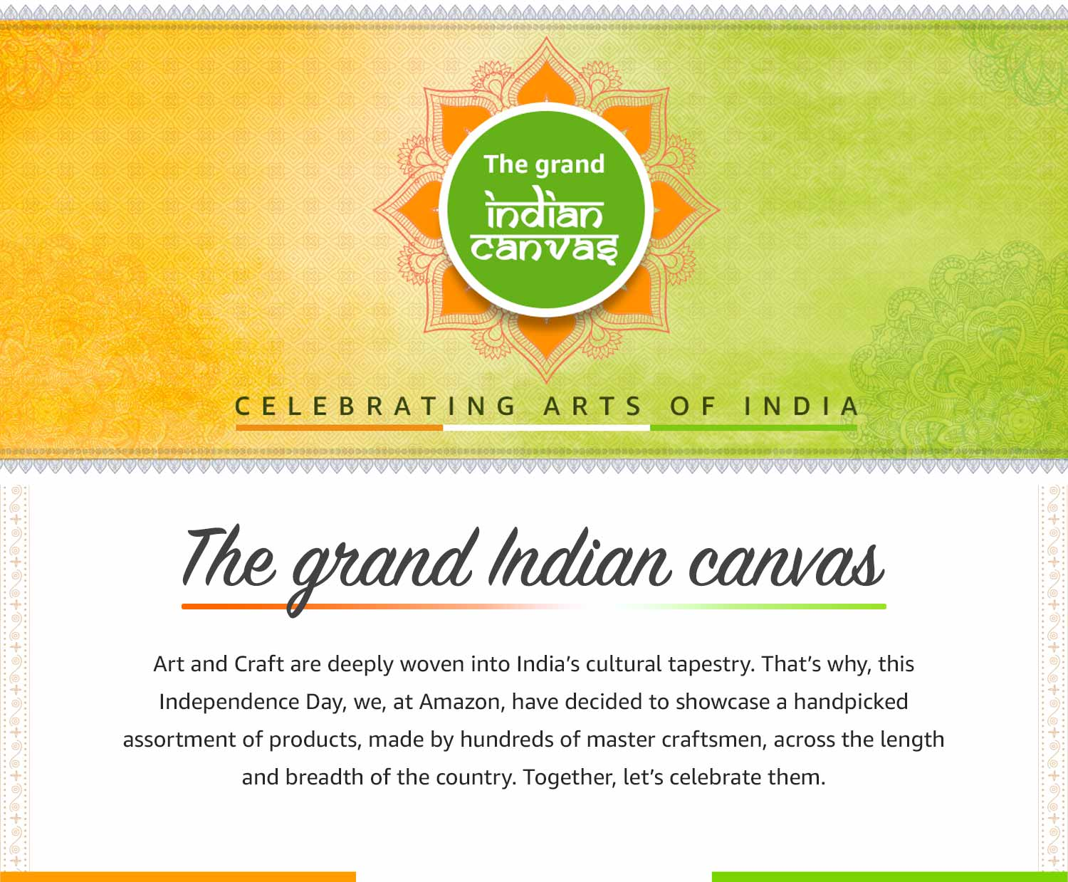 The grand indian canvas