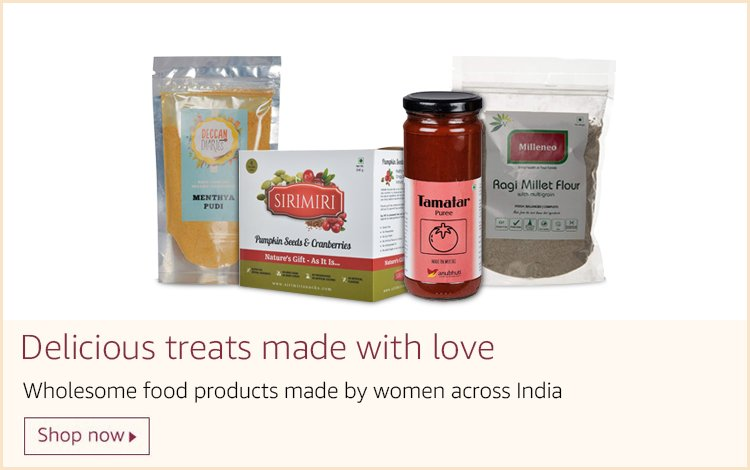 Delicious food products made with love