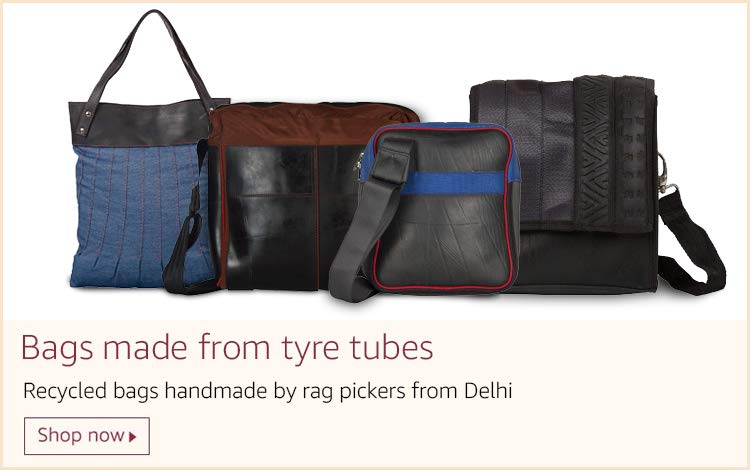 Bags made from tyre tubes