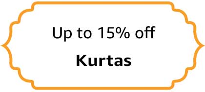 Kurtas - Up to 15% off