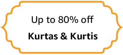 Kurtas & Kurtis - Up to 80% off