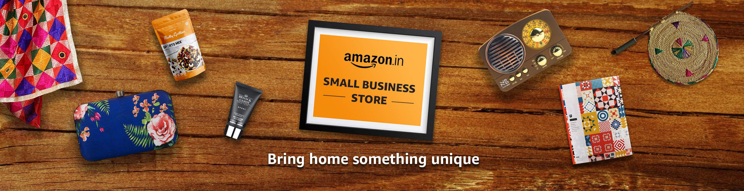 Small business day - Bring home something unique