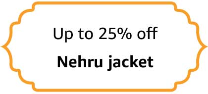 Nehru Jackets - Up to 25% off