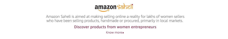Amazon Saheli - Aimed at empowering women entrepreneurs