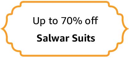 Salwar Suits - Up to 70% off