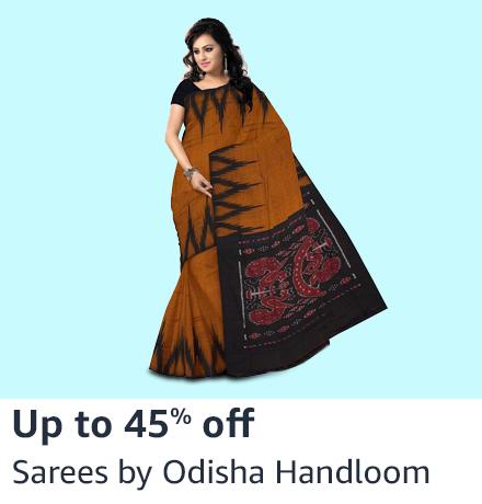 Sarees by Odisha Handloom