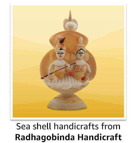 Sea shell handicrafts from Radhagobinda Handicraft