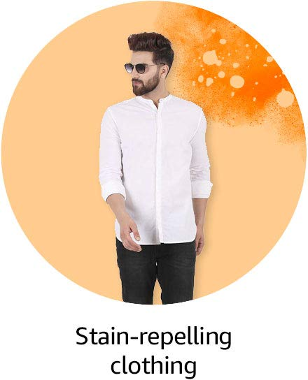 Stain-repelling clothing