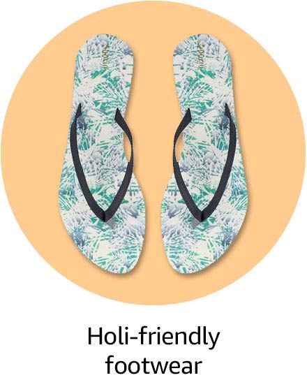 Holi-friendly footwear