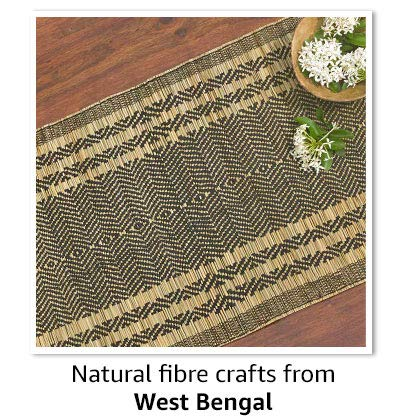 Natural fibre crafts from West Bengal