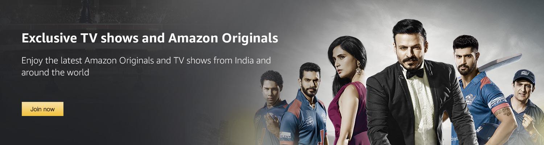 Exclusive TV shows amd Amazon Originals