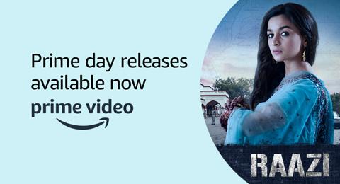 Raazi on Prime Video