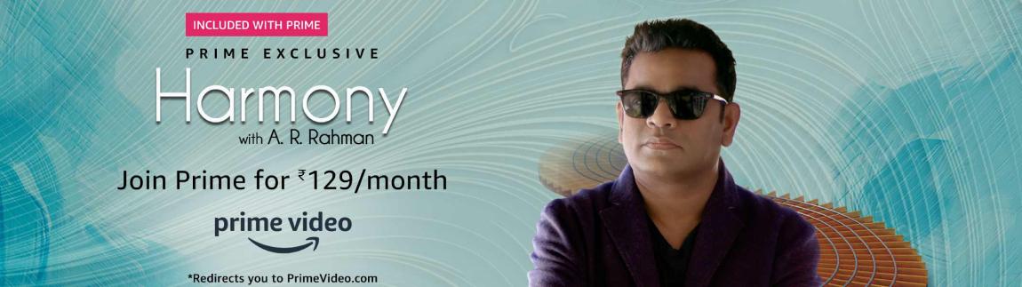 Harmony with A. R. Rahman on Prime Video