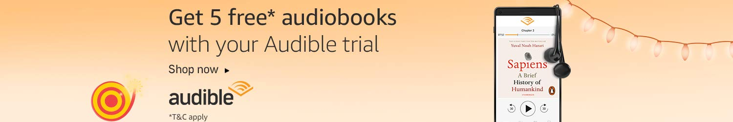 Audible Prime Offer | Get 5 free audiobooks with your trial