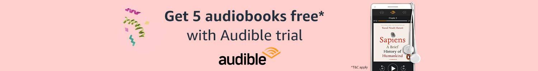 Audible : 5 free audiobooks