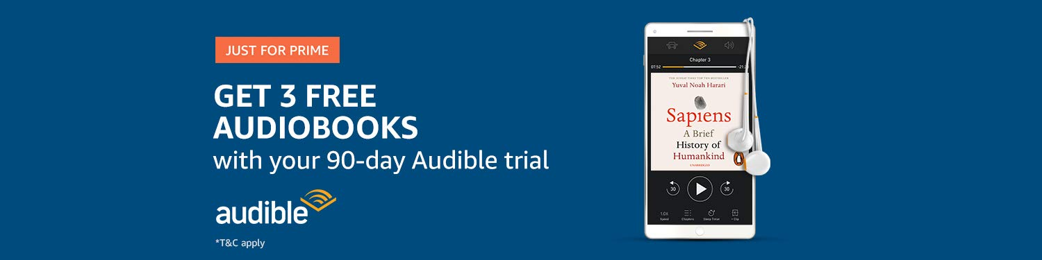 Start your free Audible trial