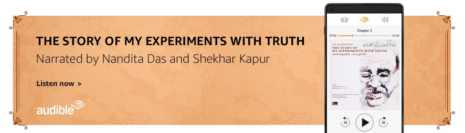The Story of my experiments with truth | Listen on Audible