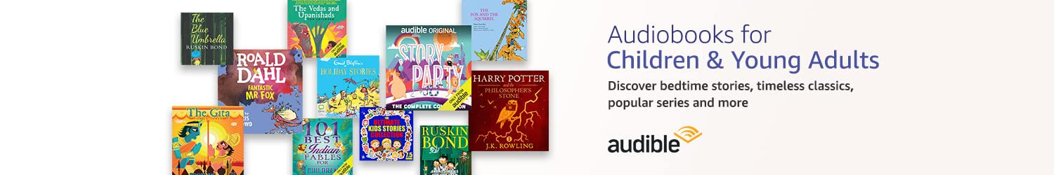 Audiobooks for Children & Young Adults | Listen on Audible