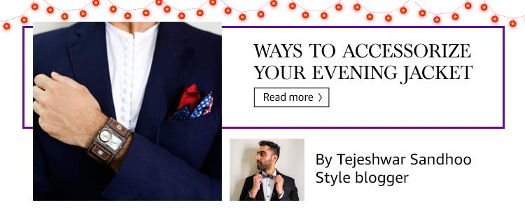 Ways to accessorize your evening jacket