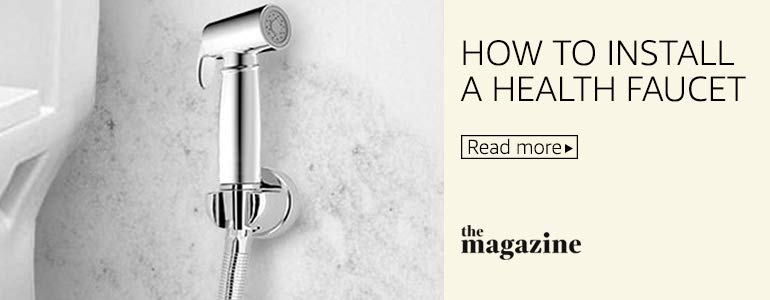 How to install a health faucet