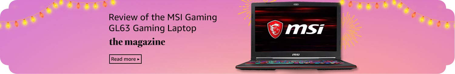 Review of the MSI Gaming GL63 Gaming Laptop