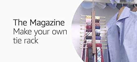 Make your own tie rack