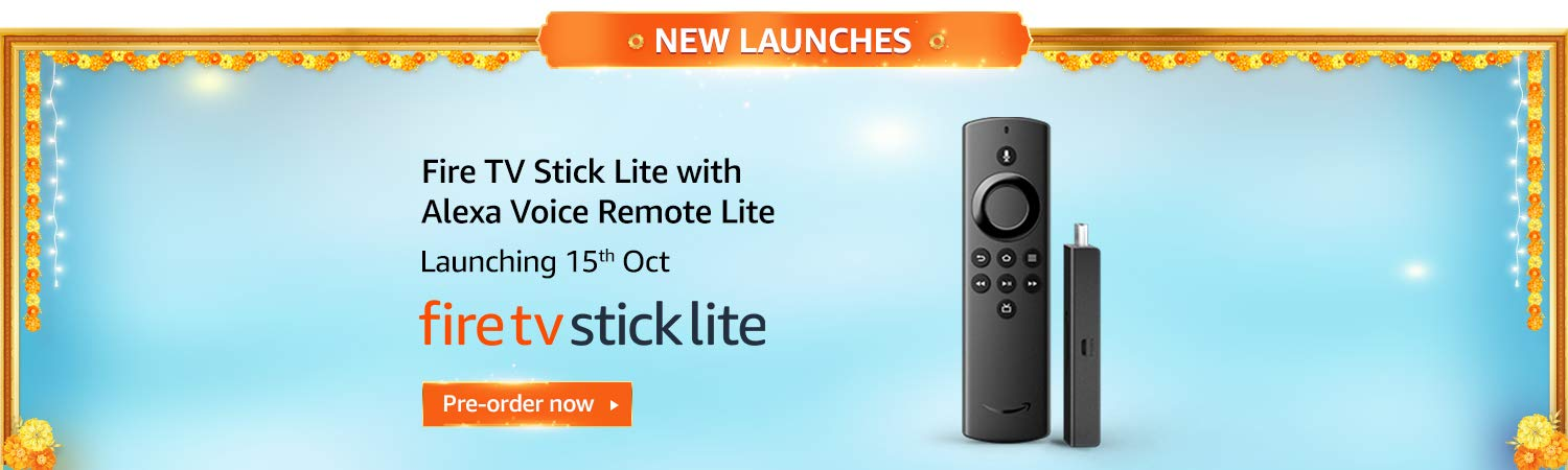 Great Indian Festival Deal on Amazon Fire TV Stick